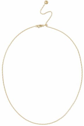 MONICA VINADER 18-karat gold-plated sterling silver necklace