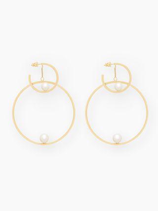 Darcey hoop earrings