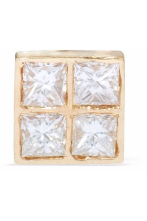 ILEANA MAKRI 18-karat gold diamond earring