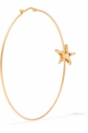 VALENTINO GARAVANI Gold-tone hoop earrings