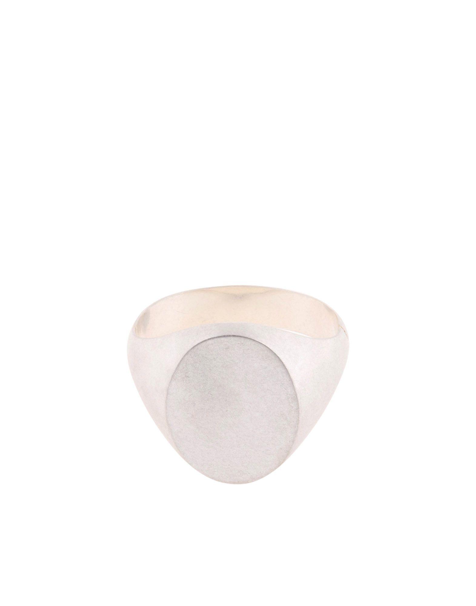 《セール開催中》MAISON MARGIELA レディース ブレスレット シルバー M 真鍮/ブラス 100%