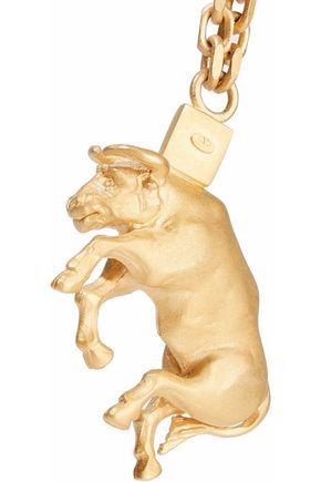 VALENTINO GARAVANI Taurus gold-tone necklace