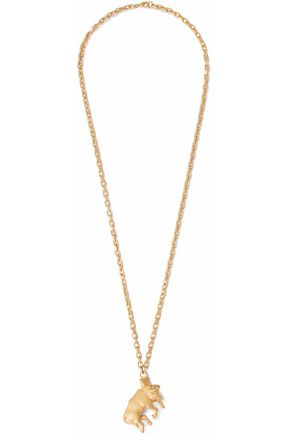 VALENTINO Taurus gold-tone necklace