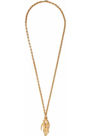 VALENTINO Gemini gold-tone necklace