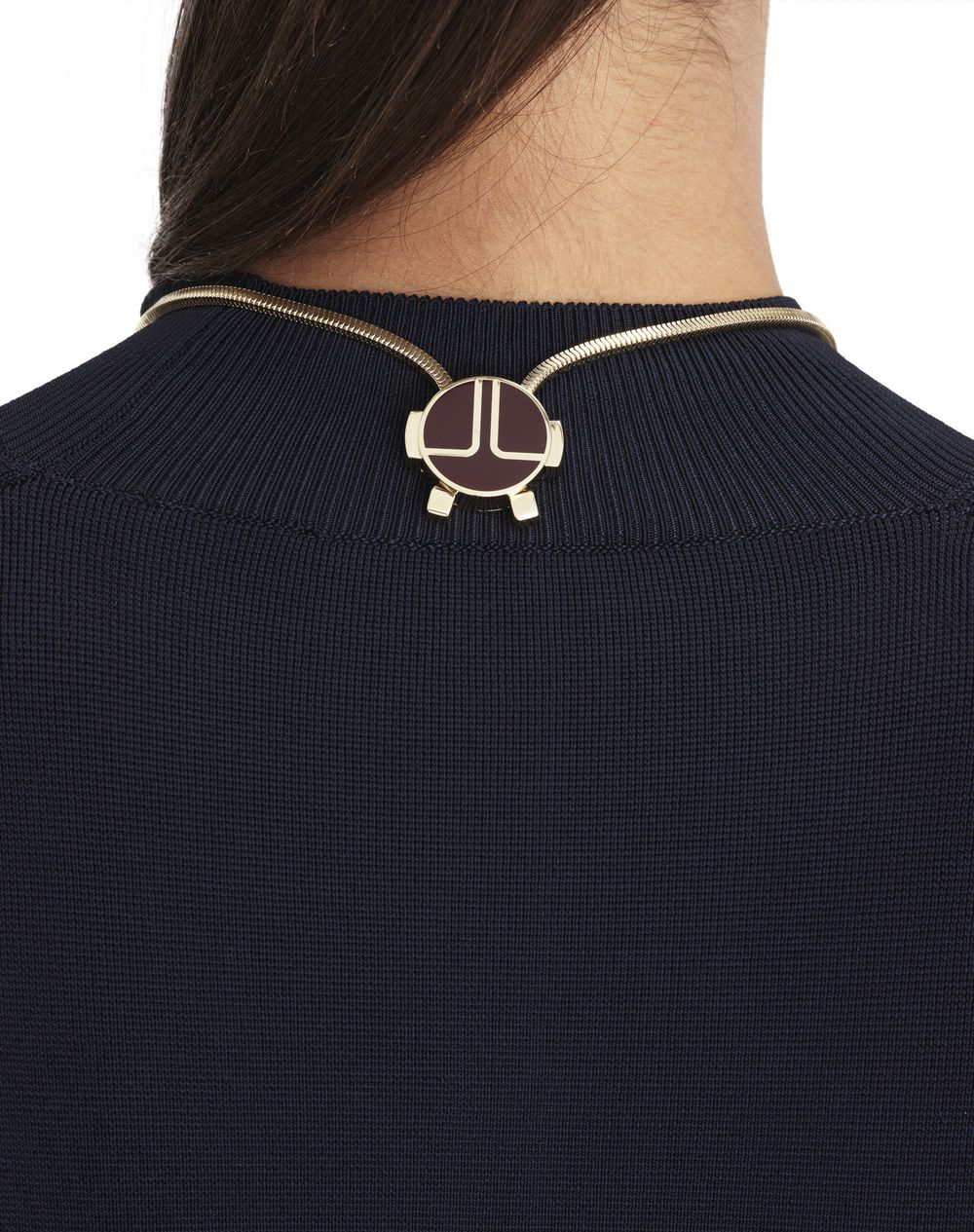 "TWO-TONED ""NEW ELLIPTIQUE"" NECKLACE - Lanvin"