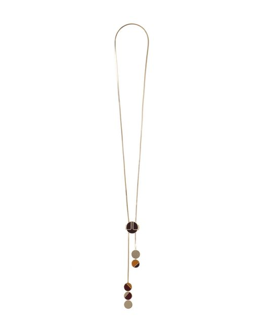 COLLIER LONG « NEW ELLIPTIQUE » - Lanvin