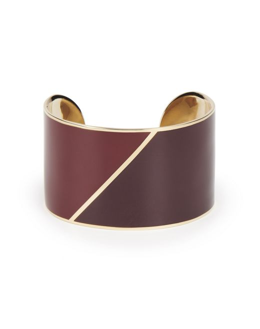 """NEW ELLIPTIQUE"" CUFF BRACELET - Lanvin"