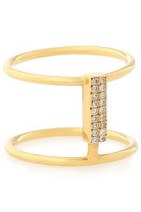 ILEANA MAKRI 18-karat gold diamond ring
