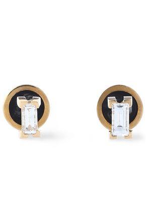 ILEANA MAKRI 18-karat gold diamond earrings