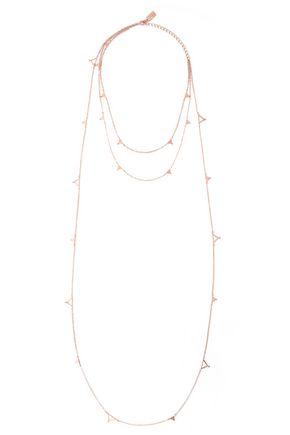 ARME DE L'AMOUR Rose gold-tone necklace