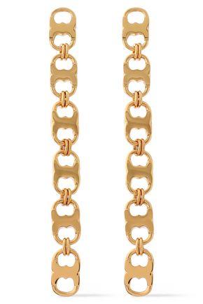 TORY BURCH Gemini Link gold-tone earrings