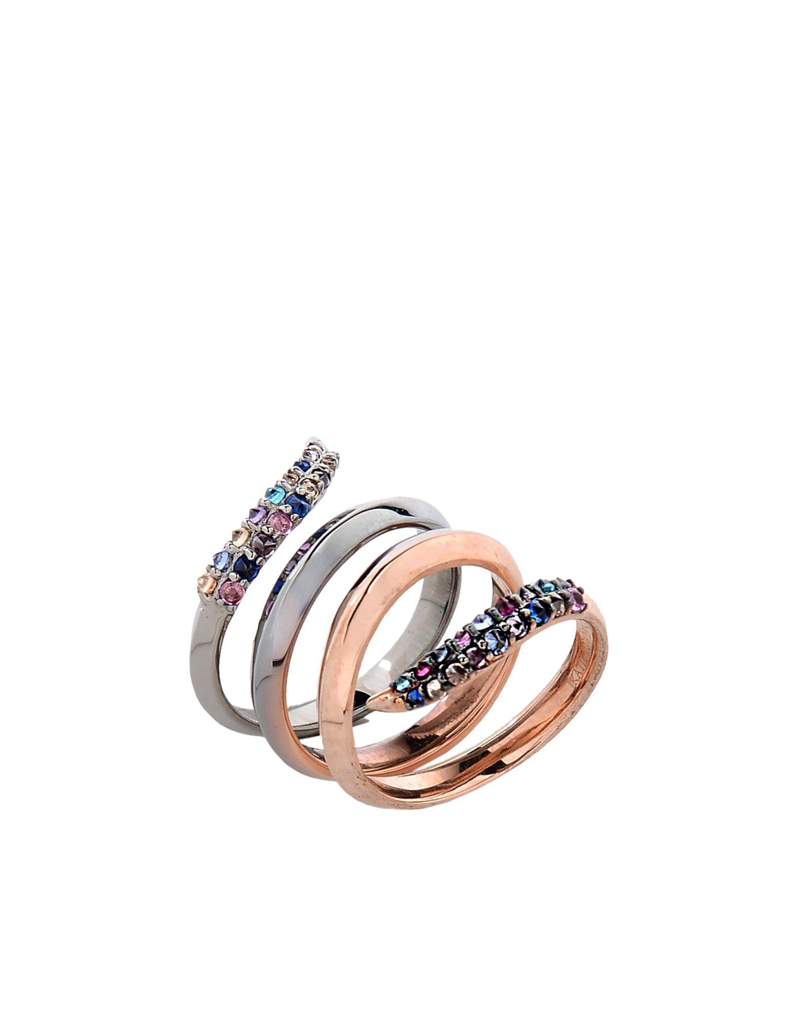 KATIE ROWLAND Damen Ring Farbe Bronze Größe 9