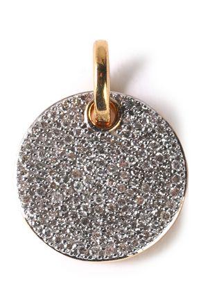 MONICA VINADER Ava 18-karat gold vermeil diamond pendant