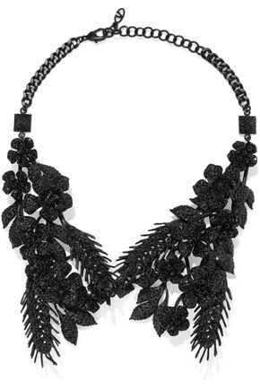 VALENTINO GARAVANI Coated crystal necklace
