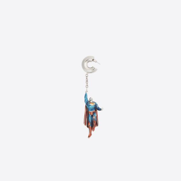 Heroes Superman earrings