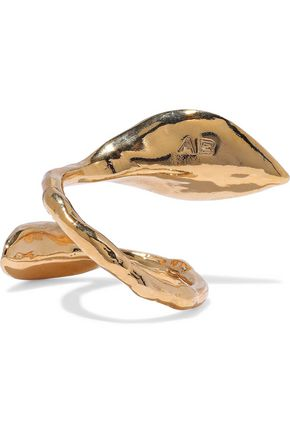 AURÉLIE BIDERMANN Monteroso gold-tone ring