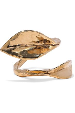 AURÉLIE BIDERMANN Monteroso gold-tone ring