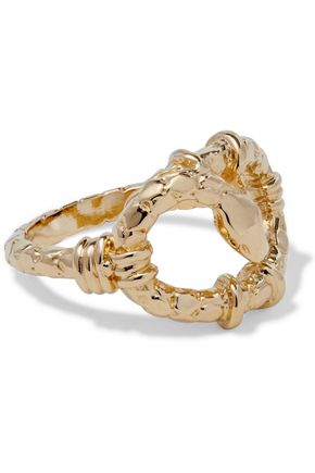 AURÉLIE BIDERMANN Soho gold-tone ring