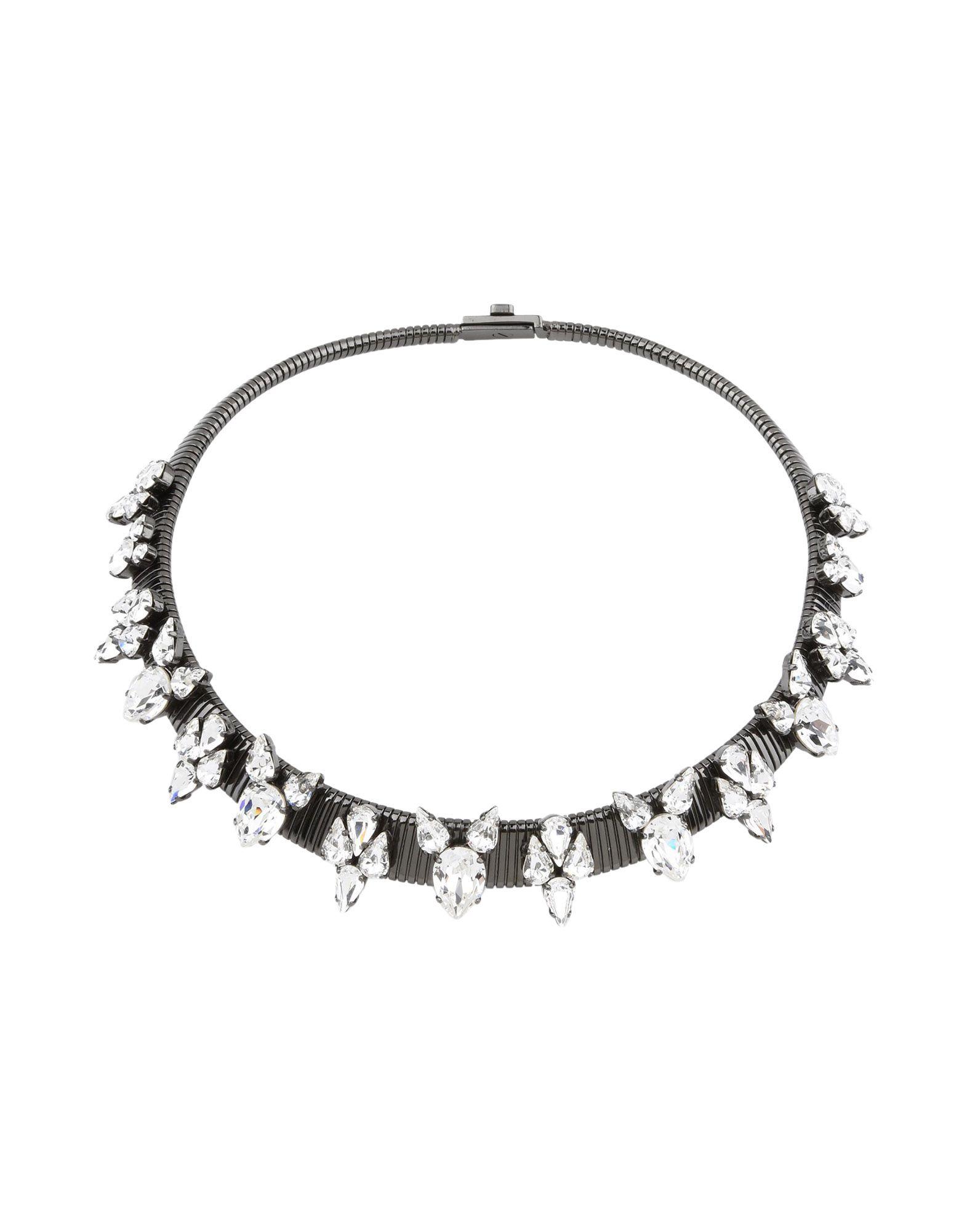 《送料無料》ELLEN CONDE レディース ネックレス 鉛色 金属