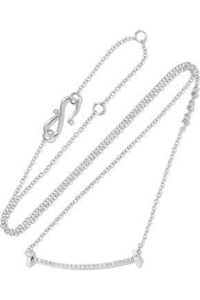 PAIGE NOVICK 14-karat white gold diamond necklace