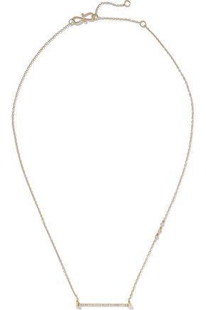 PAIGE NOVICK 14-karat gold diamond necklace