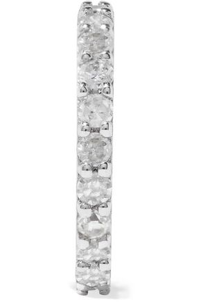 PAIGE NOVICK 14-karat white gold diamond earring