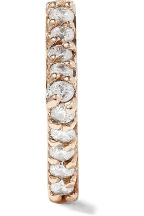PAIGE NOVICK 14-karat gold diamond earring
