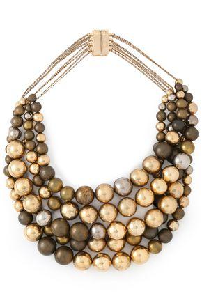 ROSANTICA Wood necklace