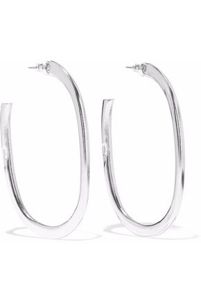 BEN-AMUN Silver-tone hoop earrings