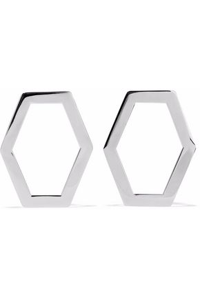 BEN-AMUN Silver-tone hoop earrings