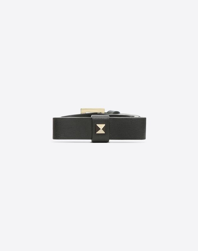 Rockstud Bracelet with bow detail