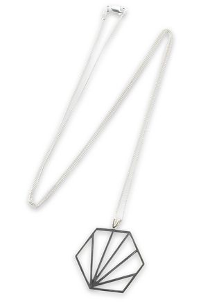 RACHEL JACKSON Sterling silver necklace