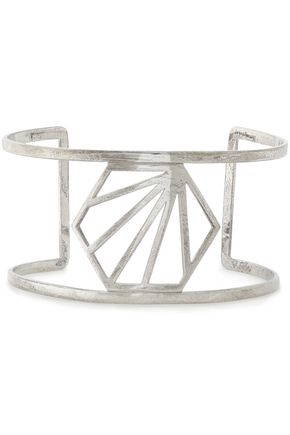 RACHEL JACKSON Burnished sterling silver cuff