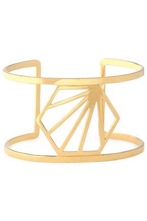 RACHEL JACKSON Gold-plated cuff
