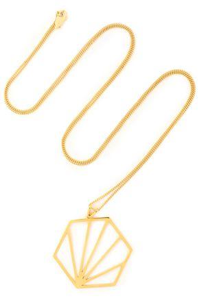 RACHEL JACKSON Gold-plated necklace