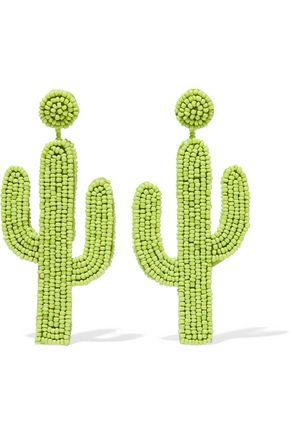 KENNETH JAY LANE Beaded earrings