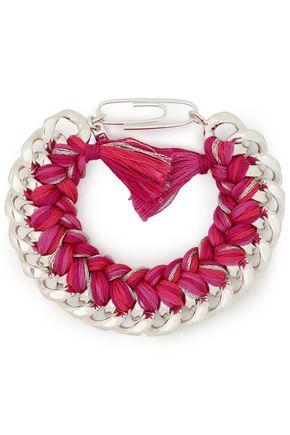 AURÉLIE BIDERMANN Do Brasil sterling silver cord bracelet