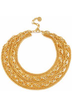 BEN-AMUN Gold-tone necklace