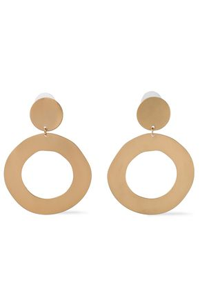 KENNETH JAY LANE Gold-tone earrings
