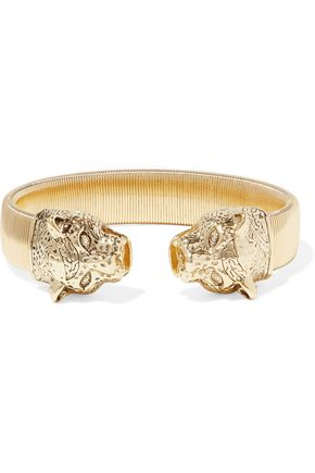KENNETH JAY LANE Gold-tone bangle