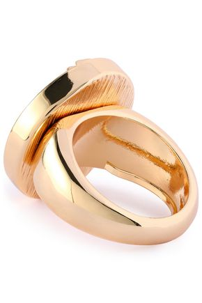 KENNETH JAY LANE Gold-tone ring