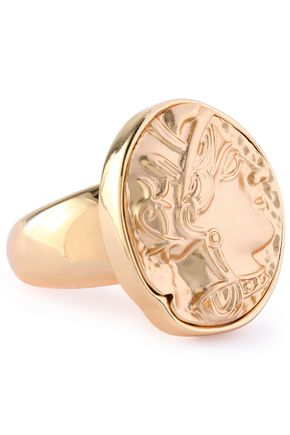 KENNETH JAY LANE Gold-tone ring