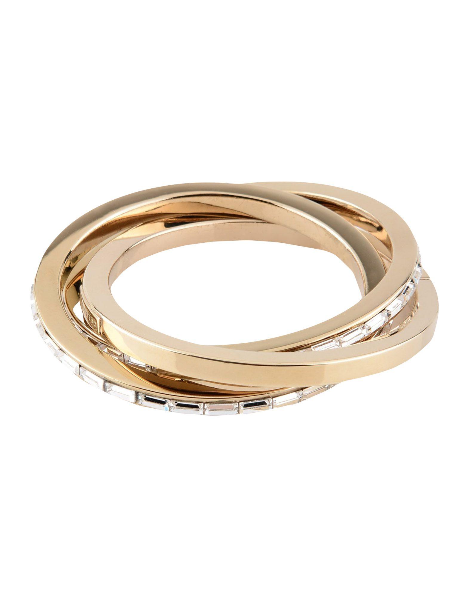 《送料無料》DSQUARED2 レディース ブレスレット ゴールド 金属 80% / ガラス 20%