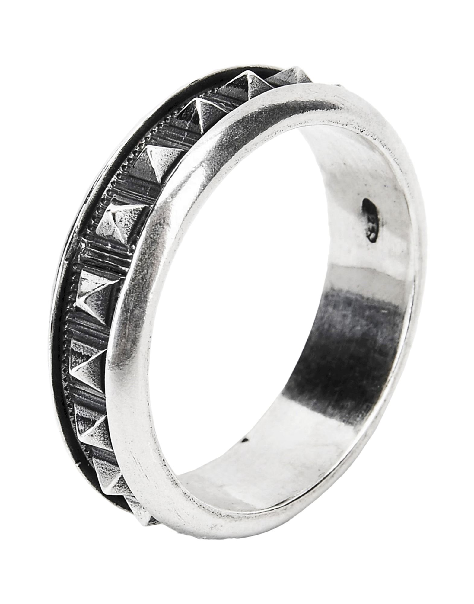 《セール開催中》FIRST PEOPLE FIRST メンズ 指輪 シルバー 24 シルバー925/1000 FEDE BORCHIE