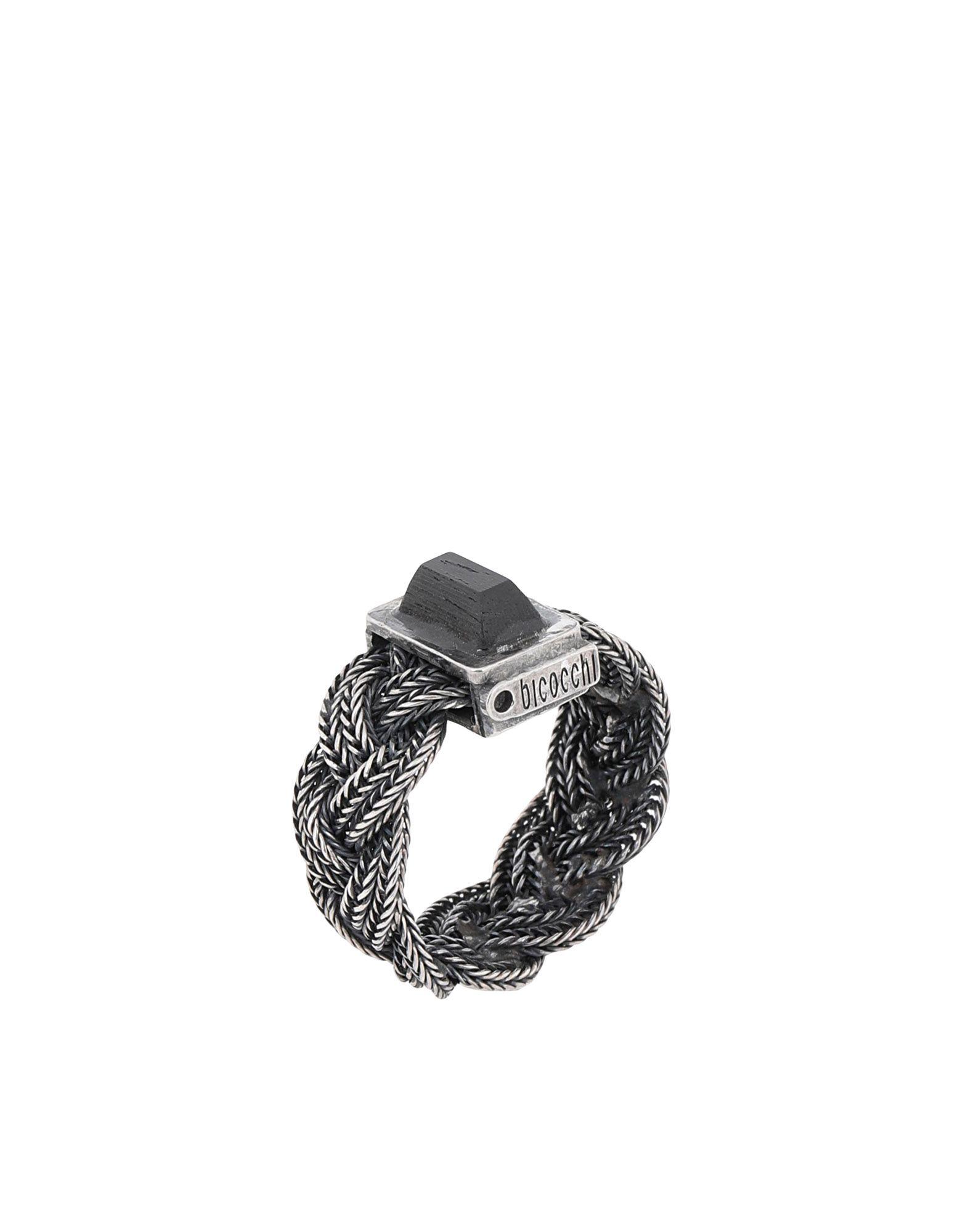 《送料無料》EMANUELE BICOCCHI メンズ 指輪 シルバー 22 金属