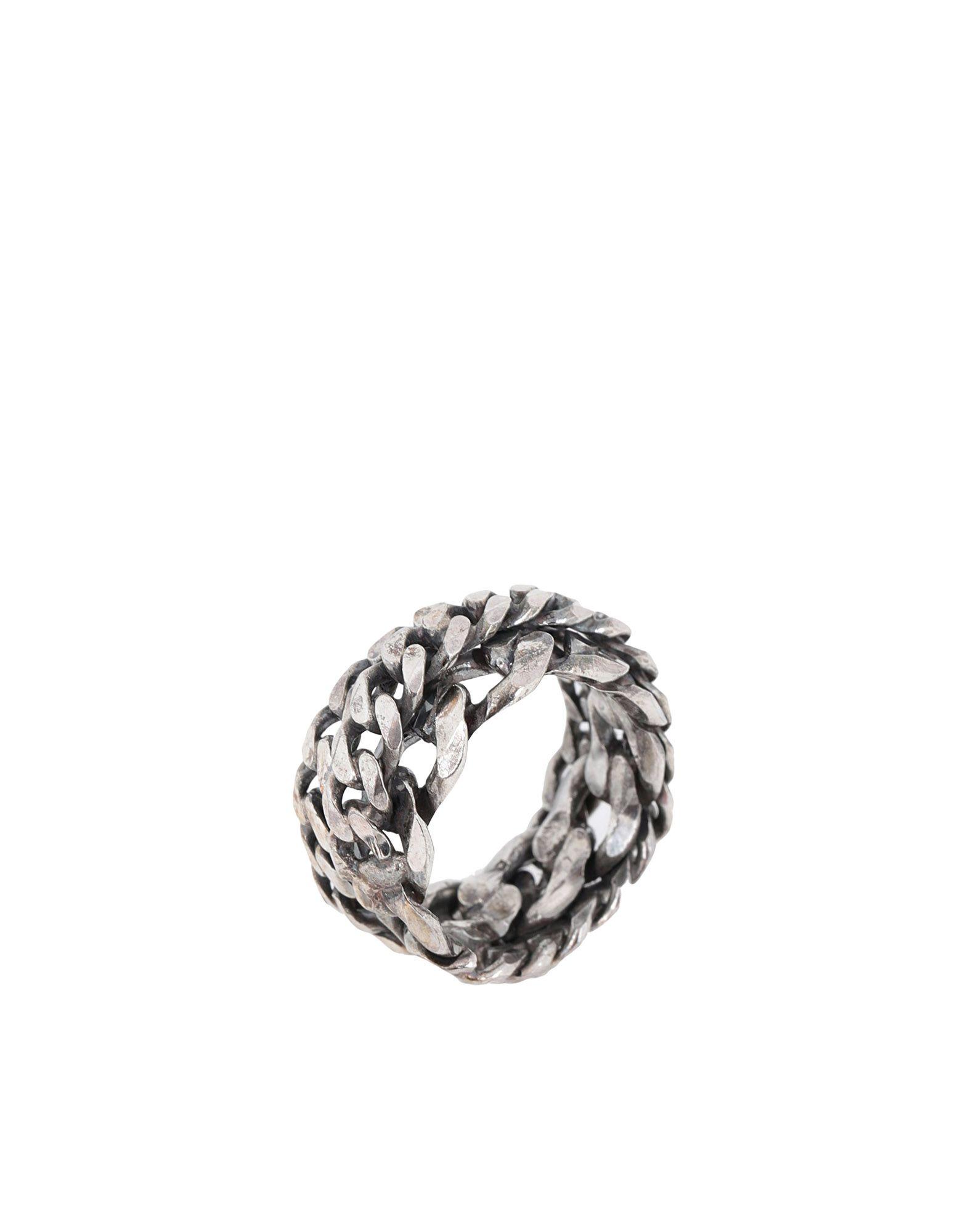《送料無料》EMANUELE BICOCCHI メンズ 指輪 シルバー 23 金属