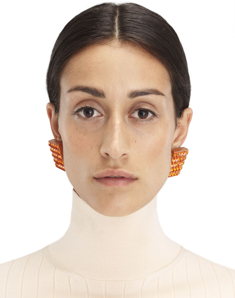 ORANGE LUXBOX EARRINGS - Lanvin