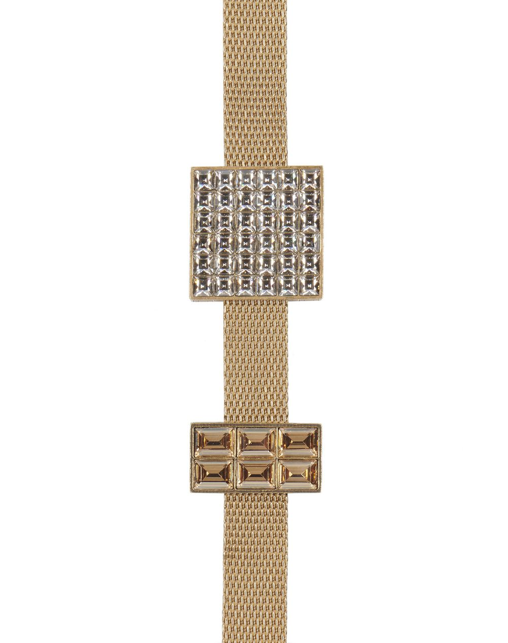 LUXBOX BRONZE AND GOLD NECKLACE/BRACELET - Lanvin