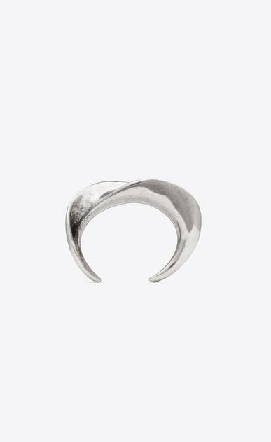 SAINT LAURENT Bracelets Woman MINIMALISTE bracelet in silver-tone metal b_V4