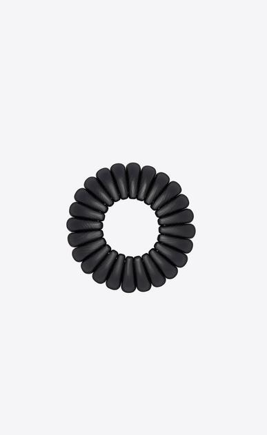 SAINT LAURENT Bracelets Femme Bracelet MANDARINE en bois noir b_V4